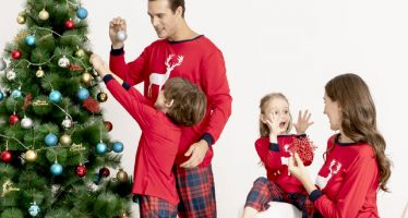 pigiami natalizi coordinati famiglia