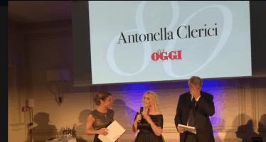 Antonella Clerici festa