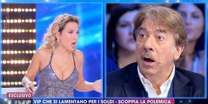 Il bacio tra Vittorio Sgarbi e Alessandra Mussolini