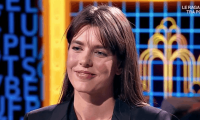Casiraghi in tv