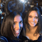 Caterina Balivo e Angelina Jolie coppia Maleficent per Vieni da me