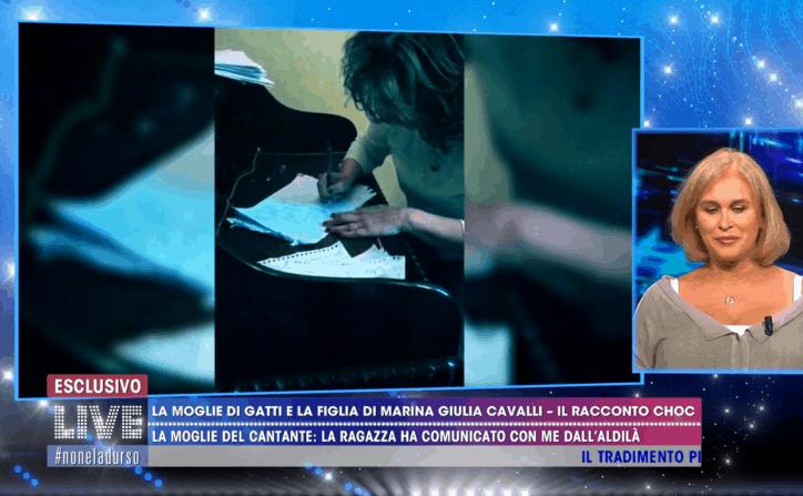 Marina Giulia Cavalli Comunico con mia figlia morta con la scrittura automatica