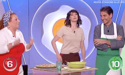 Luisanna Messeri a la prova del cuoco