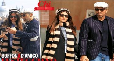 Gigi Buffon e ilaria a Venezia