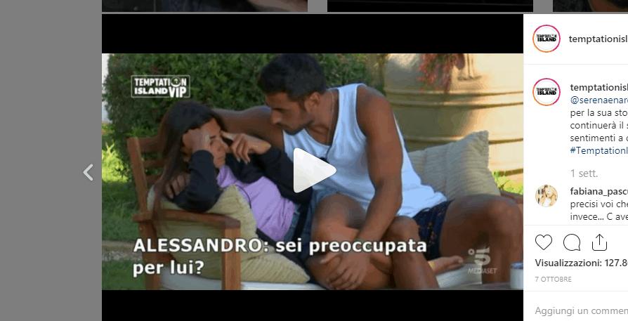 Serena Enardu e Alessandro Graziani si frequentano dopo Temptation Island VIP? Le prime risposte