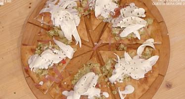 pizza Giulia ricetta la prova del cuoco 18 ottobre 2019