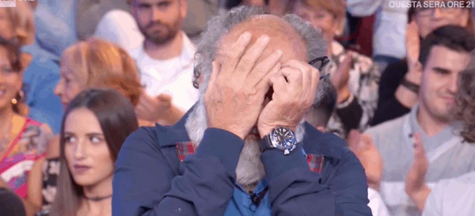 haber in lacrime in tv