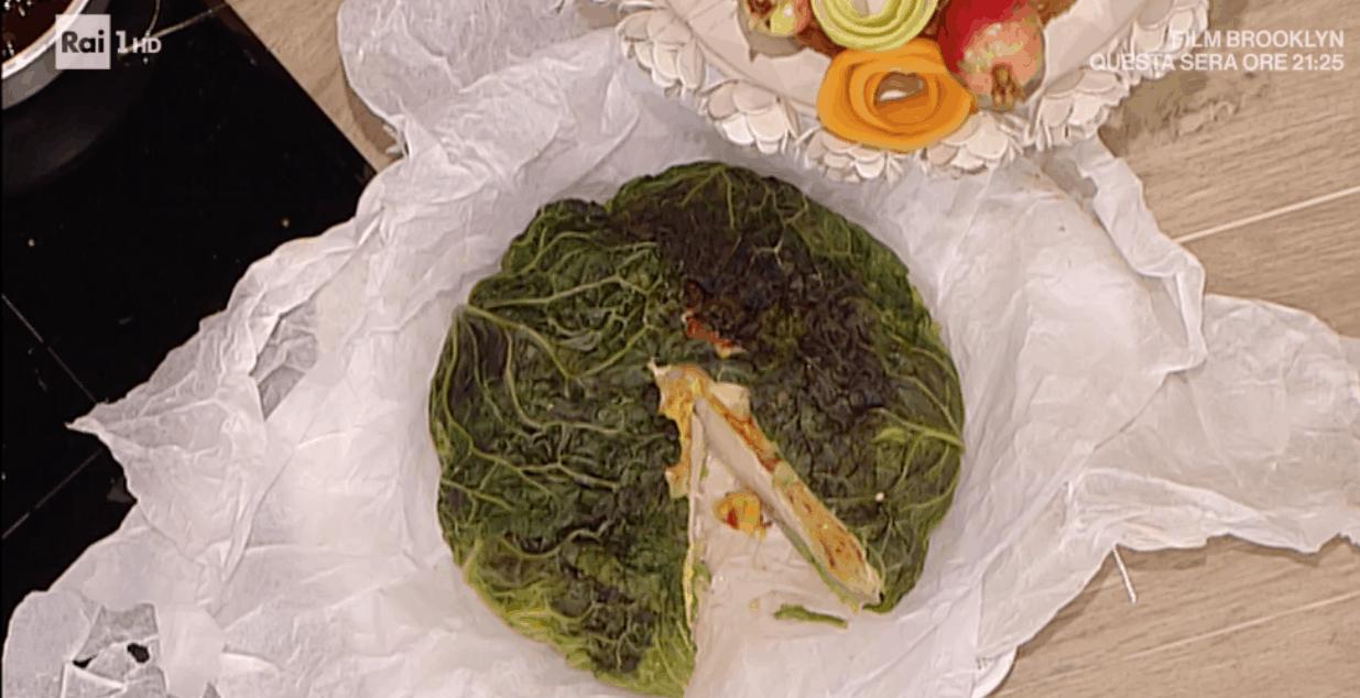 la prova del cuoco ricetta con la verza