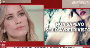 Elena Santarelli la malattia di suo figlio