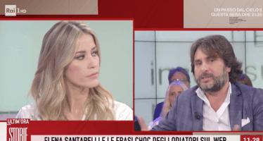 Elena Santarelli risponde agli odiatori