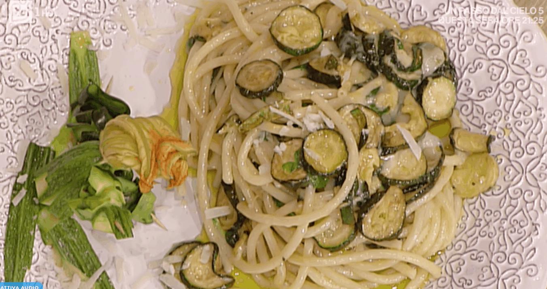 la prova del cuoco pasta con le zucchine di Angelica Sepe