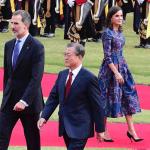 letizia di Spagna look corea