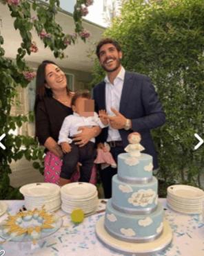 Paola Perego festeggia il battesimo del nipote Pietro, le emozioni più belle con tutta la famiglia (Foto)