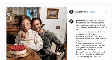 Giulio Berruti nonna