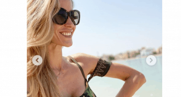 Santarelli in bikini