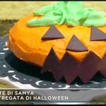 Ricette Halloween: Samya prepara torta stregata da Mattino 5