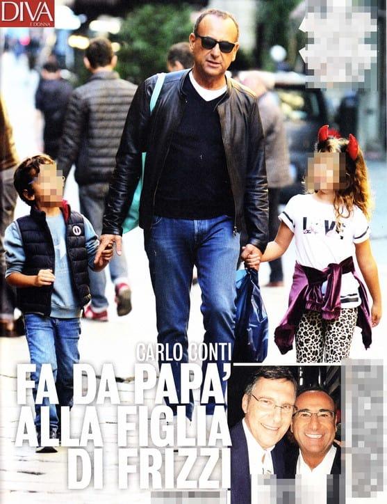 Stella e Matteo insieme con papà Carlo, mamma Carlotta e mamma Francesca: Fabrizio Frizzi ne sarà felice (FOTO)