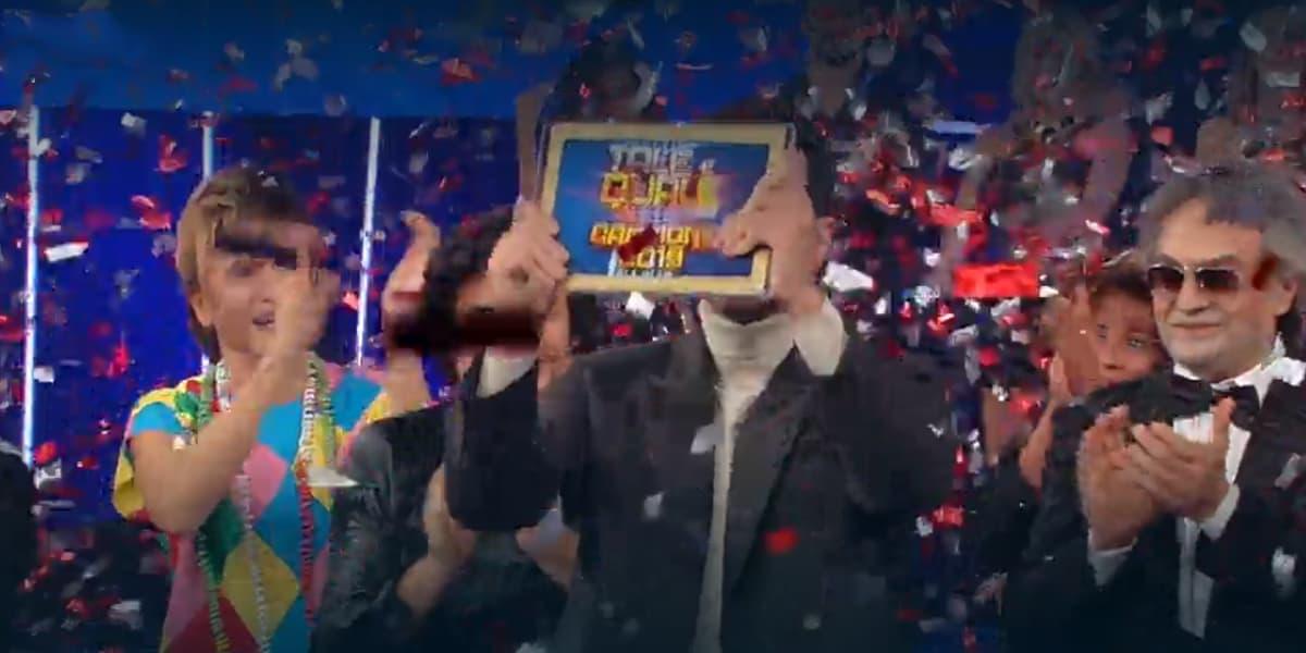 Tale e Quale Show 2019: Francesco Monte terzo al torneo, ecco chi ha vinto