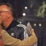 bacio e cena Gigi D'Alessio e diletta leotta