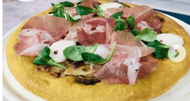 ricetta pizza ievolino con la curcuma