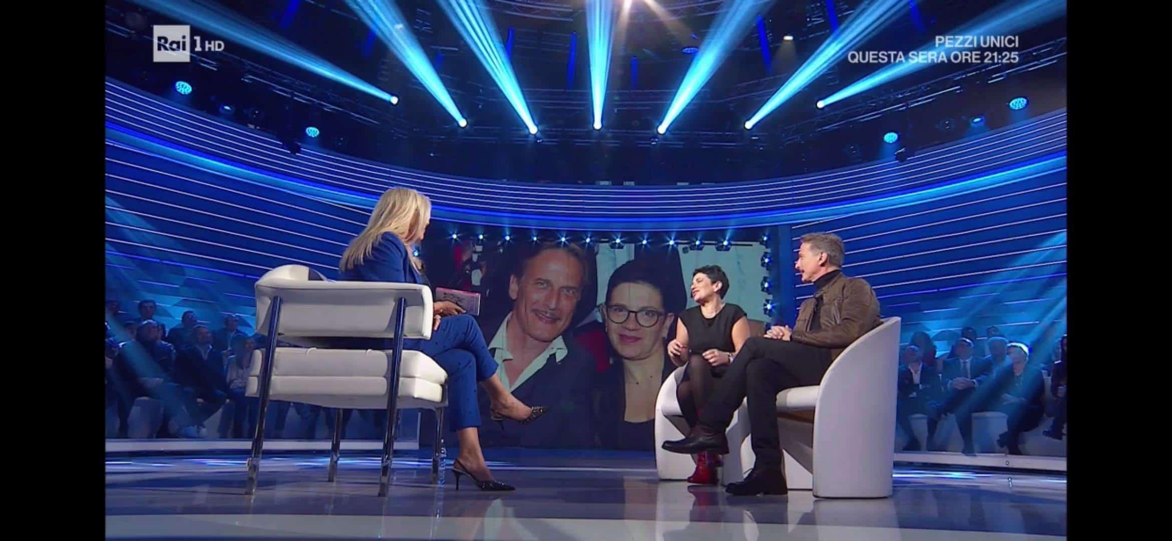 Cesare Bocci e Daniela a Domenica IN: un messaggio d'amore che vince su tutto