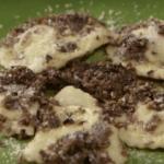 Anna Moroni ravioli con funghi e salsa tartufata