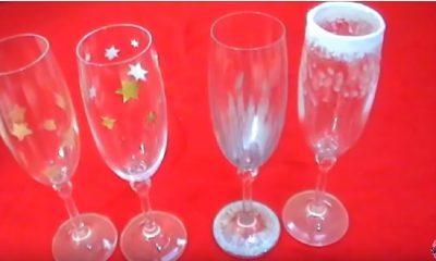 come decorare i bicchieri a natale per una tavola perfetta
