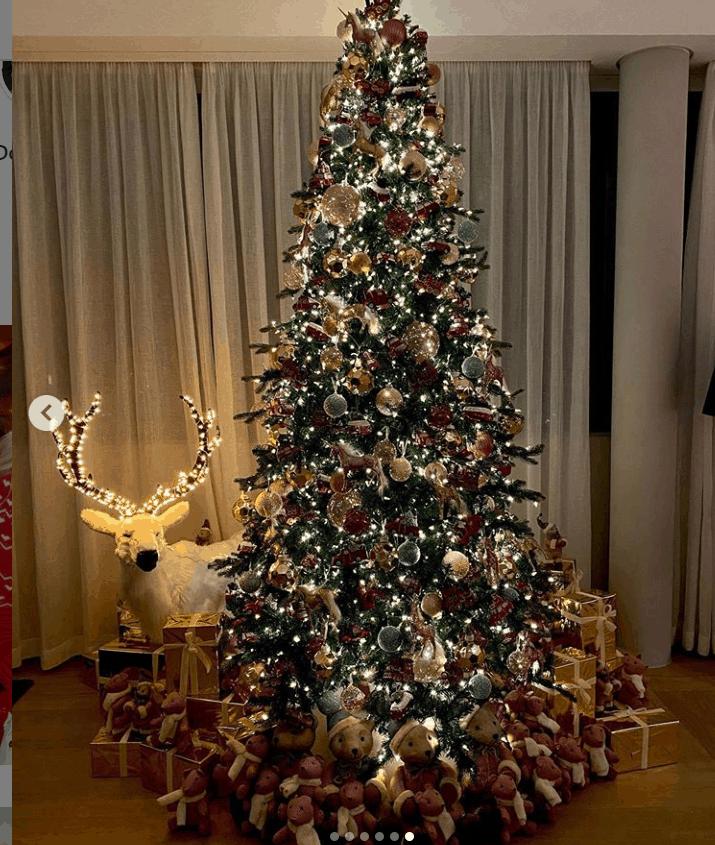 Anche a casa Ferragnez è arrivato il Natale: ecco albero e addobbi di Chiara e Fedez (FOTO)