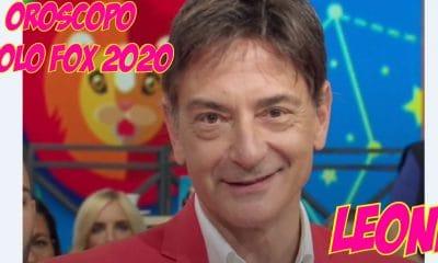 oroscopo paolo fox 2020 leone