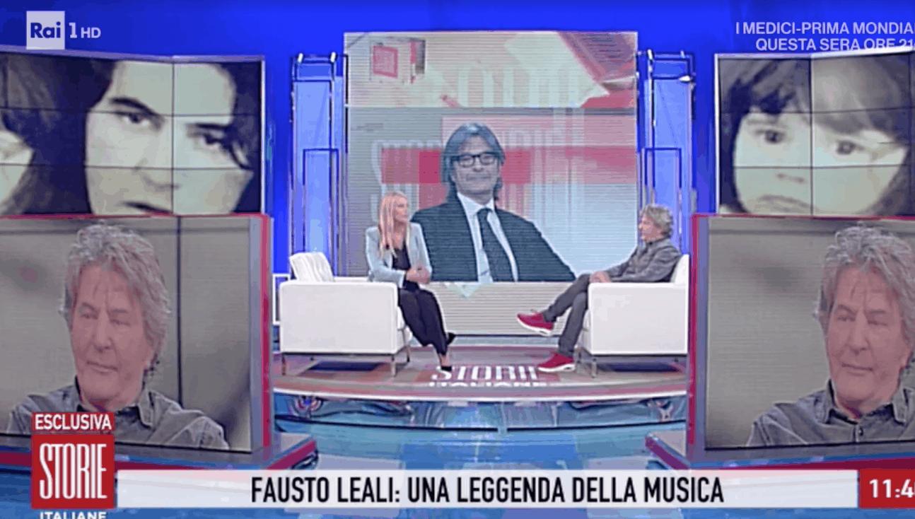 Fausto Leali a Storie Italiane: tre matrimoni ma padre e nonno eccezionale proprio come l'artista (Foto)