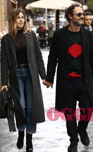 Eleonora Pedron e Fabio Troiano prima al ristorante e poi a casa ma sempre insieme (Foto)