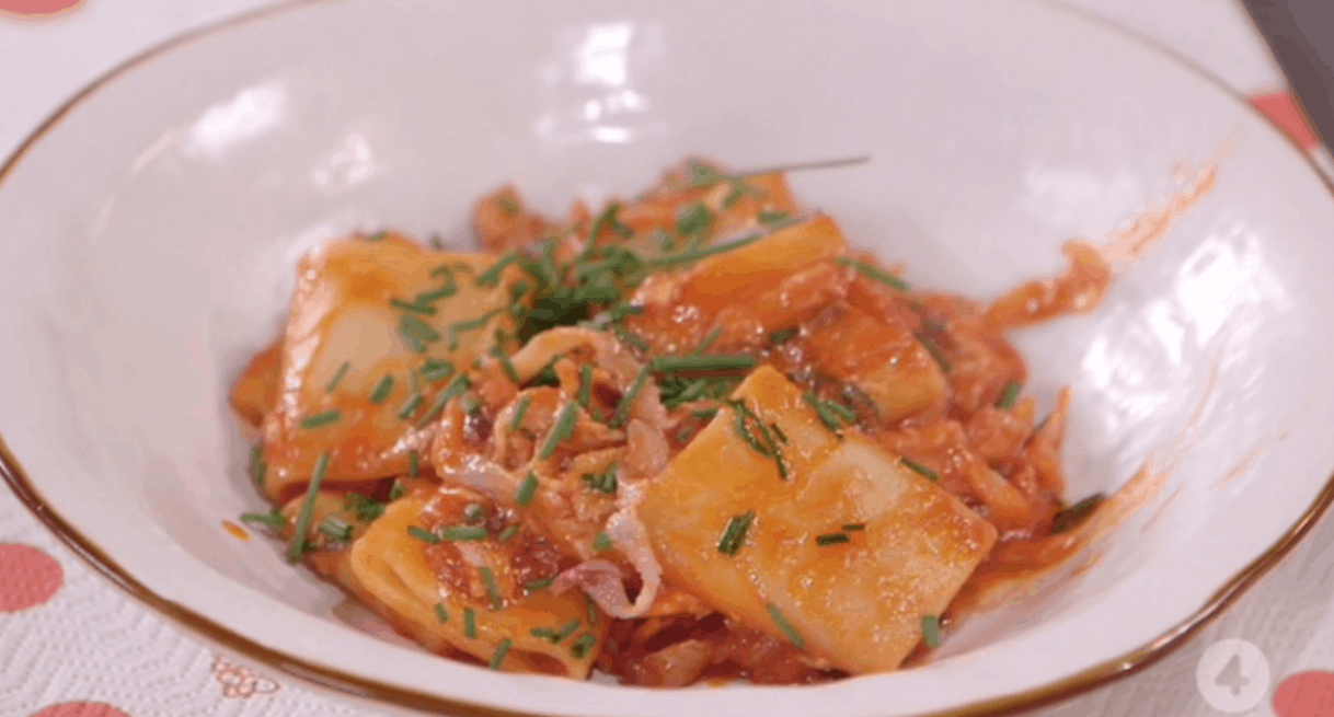 ricette all'italiana paccheri