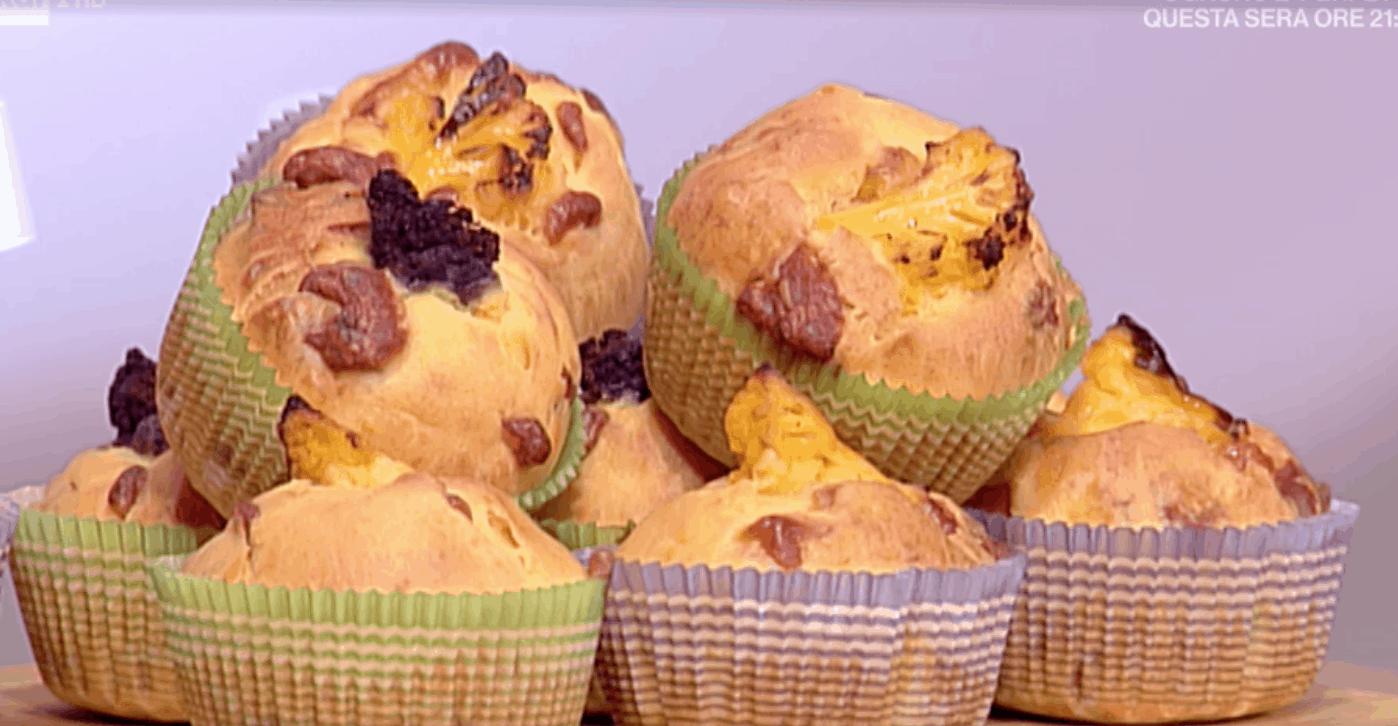 La prova del cuoco, la ricetta dei muffin di cavolfiore di Rubina Rovini