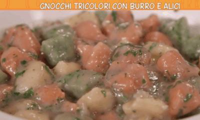 ricette Anna Moroni gnocchi burro e alici