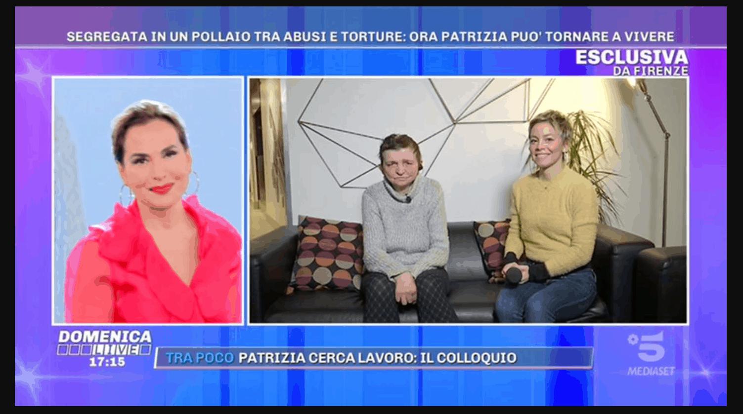Un lavoro sotto l'albero per Patrizia grazie ai telespettatori di Pomeriggio 5: vuole solo serenità per la sua famiglia