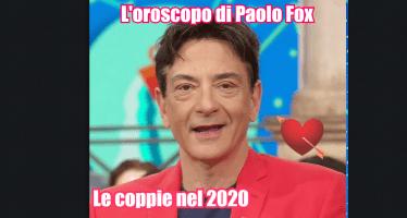 oroscopo paolo fox 2020 gemelli in coppia