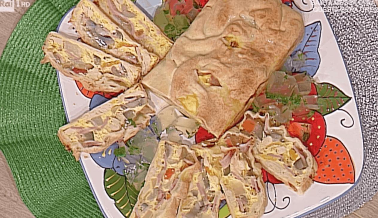 Alessandra Spisni per le feste la ricetta della terrina di cappone da La prova del cuoco