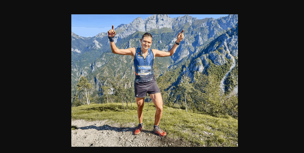 """Andrea Grilli il runner che si risveglia dal coma e saluta subito sua moglie: """"Ciao amore"""""""