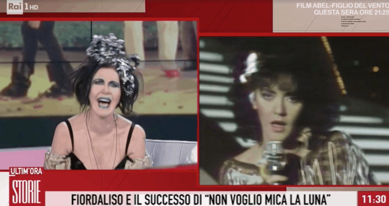 Fiordaliso a Storie Italiane, dal primo Sanremo a oggi com'è cambiata la meravigliosa cantante (Foto)