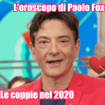 oroscopo paolo fox 2020 acquario