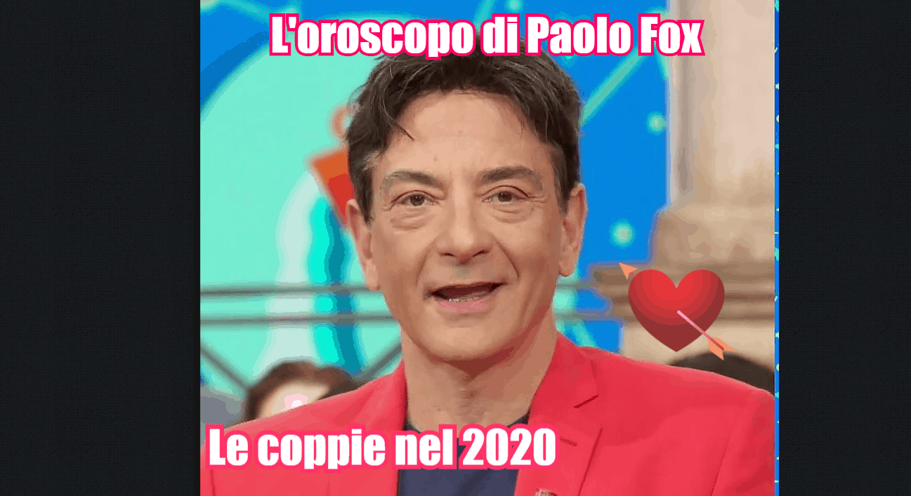 oroscopo paolo fox 2020 pesci