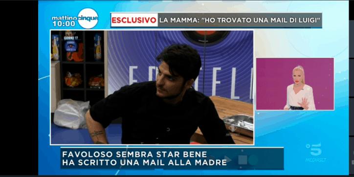 Mattino 5, nuova svolta su Luigi Favoloso: parla la mamma