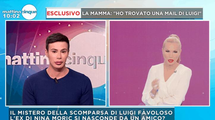 Luigi Favoloso, il personal trainer di Moric: