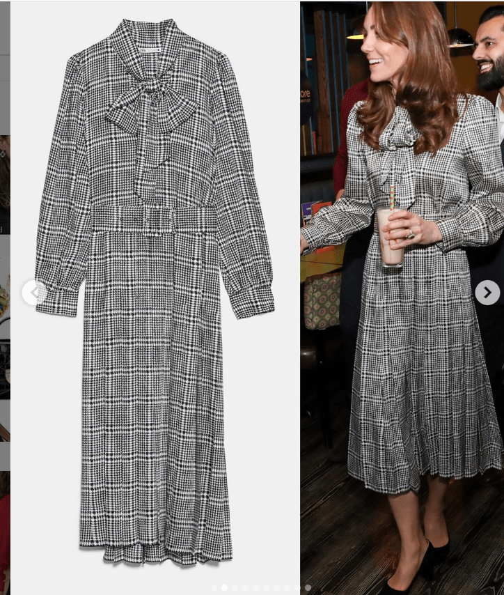 Kate Middleton abito Zara con Charlotte | Ultime Notizie Flash