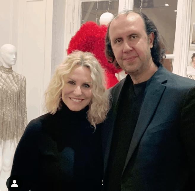 Antonella Clerici a Parigi da Tony Ward, è in splendida forma pronta per gli abiti di Sanremo (Foto)
