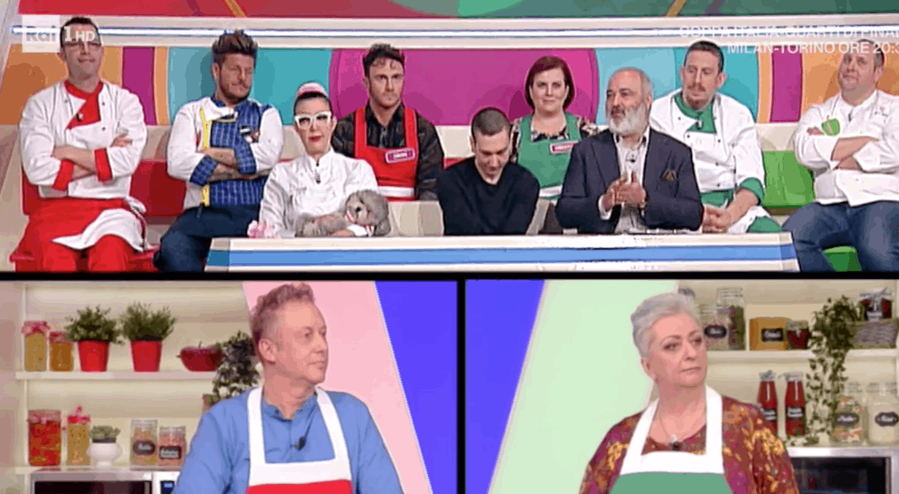 Claudio Lippi assente a La prova del cuoco, che succede? (Foto)