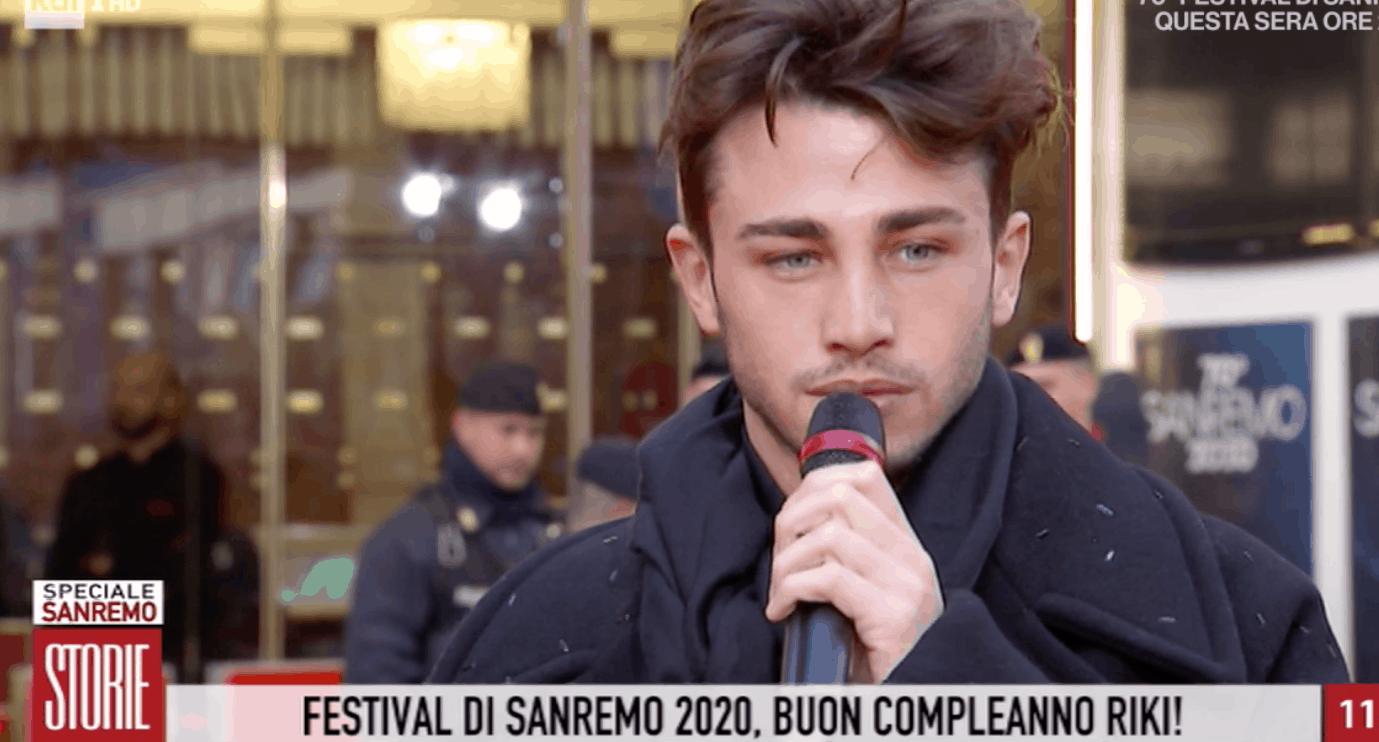 Riki a Sanremo 2020, la mamma a Storie Italiane con un messaggio per lui (Foto)