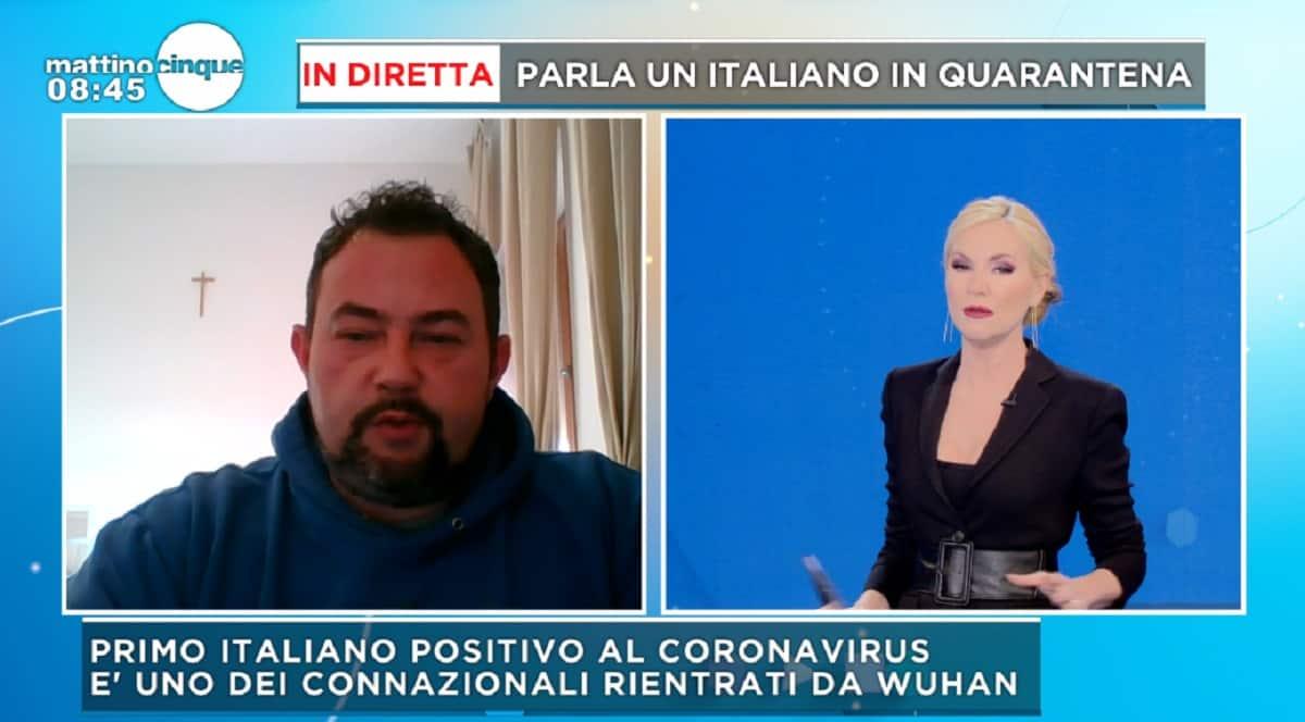 coronavirus italiano quarantena
