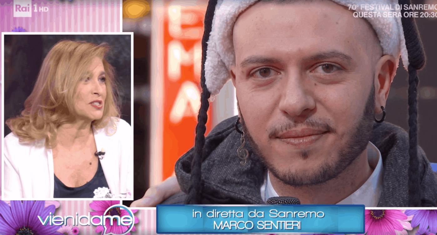 """Marco Sentieri a Vieni da me è il super favorito delle Nuove Proposte di Sanremo 2020: """"Siamo tutti Billy Blu"""" (Foto)"""