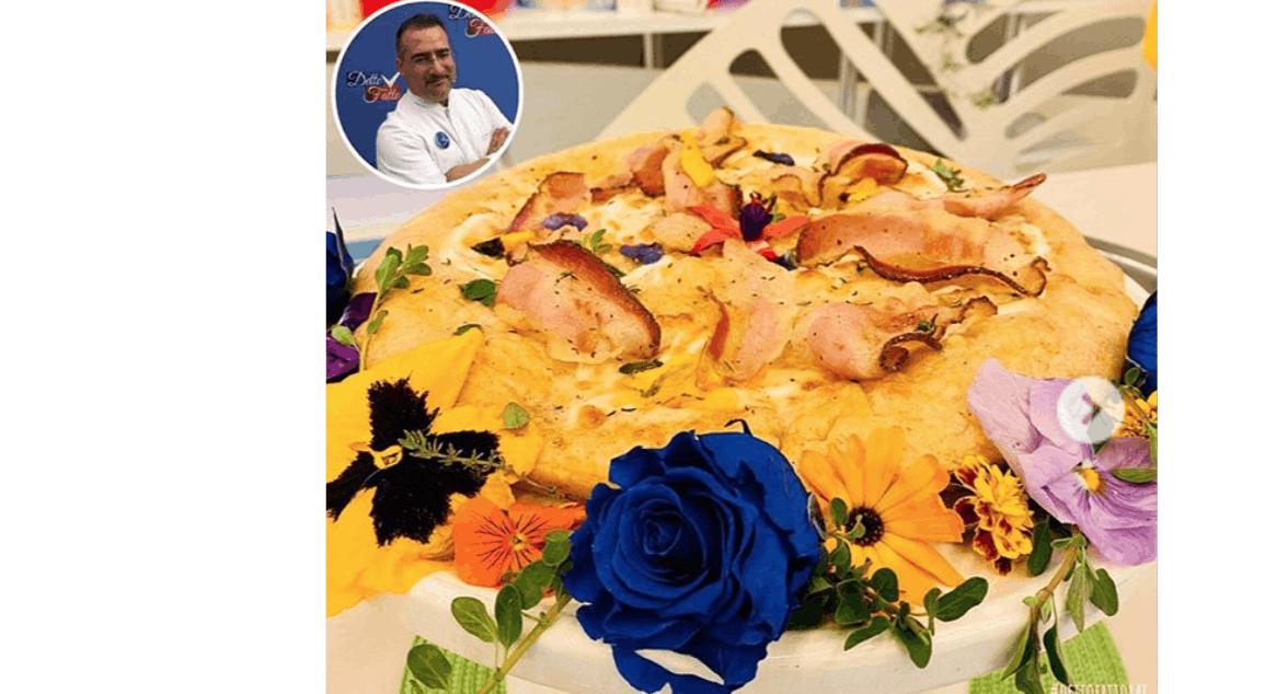 Detto Fatto ricette, facciamo la pizza una rosa blu di Gianfranco Iervolino